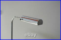 Elegenate Art Deco Stehleuchte, Stahlrohr Chrom Bauhaus Design Lampe rohr tube
