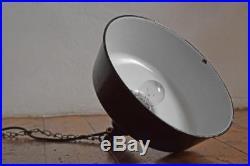 Emaillelampe Vintage Industrielampe Fabriklampe Loft Alt Bauhaus Art Deco Antik