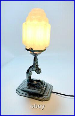 Frankart Art Deco Style Lamp