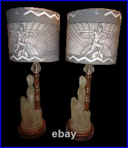 Godspeed Art Deco 8 Inch Dia. Lamp Shade Designer Fabric
