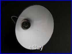 Grande lampe gras ravel clamart art deco industriel bernard albin a identifier