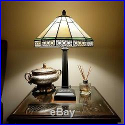 High Quality + Popular Tiffany Style Art Deco Stained Glass Desk Table Lamp
