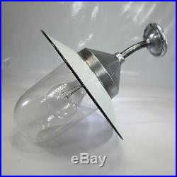 Hoflampe Art Deco Glaskolben Antik Wandlampe Industrie Design Antik Fabriklampe