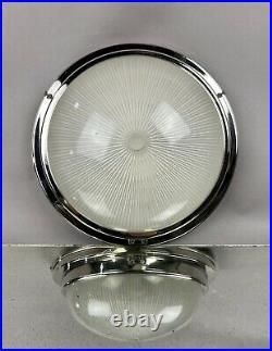 Holophane France Art Deco Lampe Plafoniere Flush Mount Ceiling Light Fixture