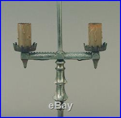 Hubley Arts & Crafts Mission Art Deco Floor Lamp Ca. 1920, in Super Condition