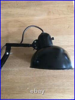 Industrial Art Deco Bauhaus Vintage Scissor Lamp 1920s-1930s K. Idell Style