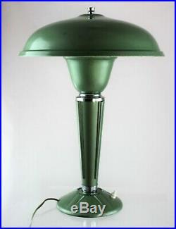JUMO Lampe ART DECO Tischlampe Bakelit desk lamp