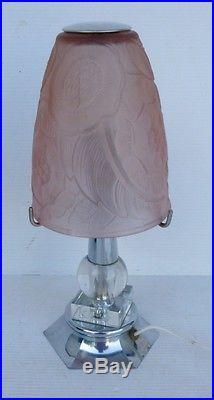 Art Deco Lamp Jolie Lampe Champignon Ancienne Art Deco Tulipe En