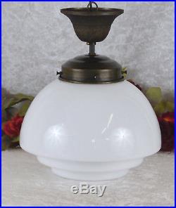 Tischlampe Messing Lampe Jugendstil Nachttischlampe Kugellampe Antik Leuchte Neu