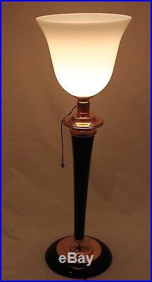 Art Deco Lamp Klassiker Original Mazda Lampe Tischlampe Art Deco