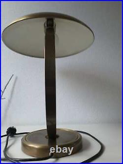 Kaiser Idell 6751 Messing Tischlampe Bauhaus Art Deco Schreibtischlampe Lampe