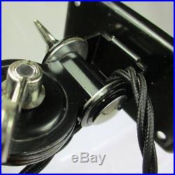 Kaiser Idell Lampe Modell 6716 Art Deco Gelenk Tisch / Wandlampe Werkstattlampe