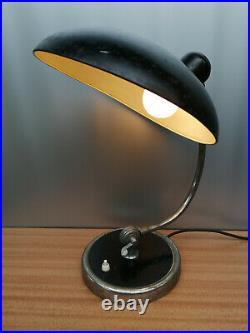 Kaiser Idell Präsident Tischleuchte Bauhaus Design Art Deco 30er Jahre Lampe