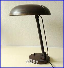 Karl Trabert Desk Lamp, G. Schanzenbach & Co Art Deco BAUHAUS