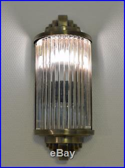 Kinoleuchte Glasleuchte Art Deco Wandlampe 20er Jahre Stil Wandleuchte Kinolampe