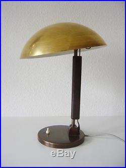 LUXURY Modernist BAUHAUS Art Deco KARL TRABERT Table Lamp BAG Dell KANDEM Era