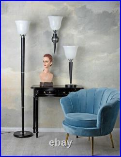 Lampe Art Deco Mazda Stehleuchte Klassiker 1930 Stehlampe Standleuchte Antikstil