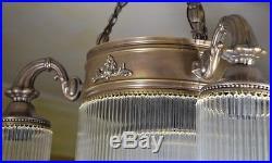 Lampe Pendelleuchte Hängelampe Art Deco Deckenleuchte Glamour Leuchte