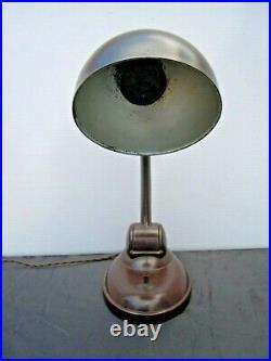 Lampe bakelite Eric Kirkham Cole type 11126 no dell lamp Art Déco