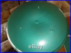 M. G Wheeler UFO SIGHTLIGHT Art Deco Flying Saucer Green Desk Lamp Swivels