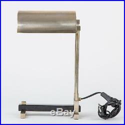 Marcel Breuer Design Bauhaus Style Art Deco Table Lamp, Diamant Art Studio NY