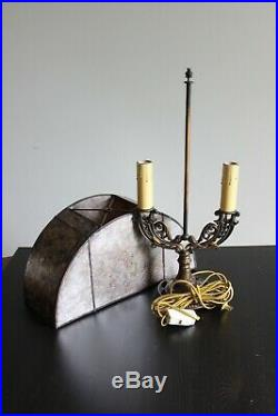 Mid 1920s Art Deco Peacock Lamp