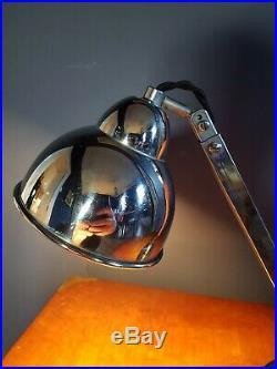 ORIGINAL ART DECO CHROME DESK LAMP. 1930sVERY RARE