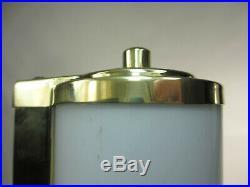 Org. 20er 40er Art Deco Lampe Wandlampe 21cm Antik Wandleuchte Kinolampe
