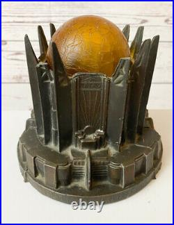 Original 1933 Chicago Workds Fair Century of Progress Art Deco Lamp WORKS