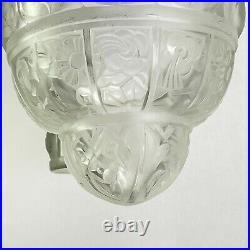 Original ART DECO Lüster Hängelampe traumhafte Lampe ceiling lamp
