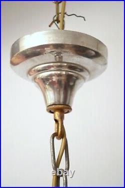 Original Art Deco Deckenleuchte Hängelampe LIGHT SHELL 1930