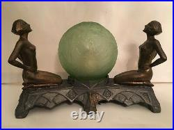 Original Art Deco Frankart Era Lamp (complete) c. 1925