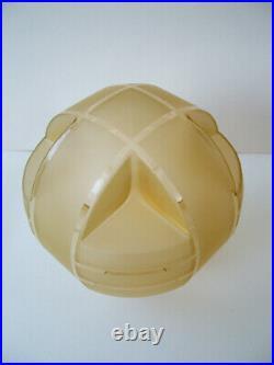 Original Art Deco Uranium Glass Shade