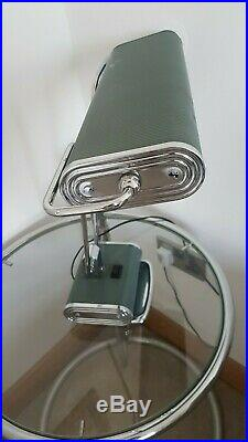 Original Eileen Gray Jumo art deco desk lamp