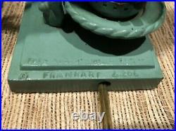 Original Frankart L206 Signed Art Deco Figural Pair Of Lamps Very Good Condt