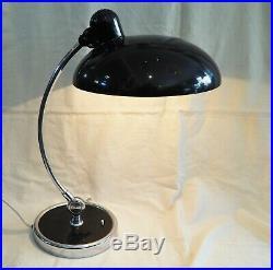 Original Kaiser Idell Präsident 6631 Schreibtischlampe, Bauhaus Art Deco