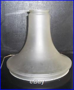 Originales Ersatz Lampenglas für Peter Behrens Luzette Deckenlampe Art Deco
