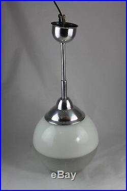 Orignal alte Holophane Lampe Hängelampe Industriedesign ART DECO