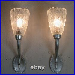 Pair Of Beautiful French Art Deco Sconces 1925