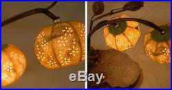 Paper Ball Orange Shade Decorative Table Bedside Home Accent Art Deco Lamp Light