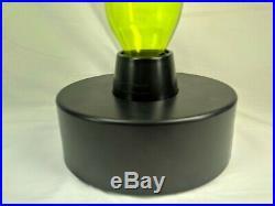 RARE Plasma Art Glass Lamp LumiSource Sculptured Electra Twisted Lightning 15