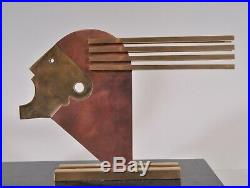 Rare Bauhaus table lamp, Oskar Schlemmer, art deco design