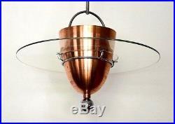 Rare Huge Original Bauhaus Chandelier Metropolis 30s Ceiling Lamp Art Deco