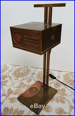 Rare Original Bauhaus Adjustable Lamp by Oskar Schlemmer c. 1928 Art Deco