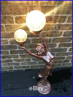 Reproduction Art Deco Lady Lamp