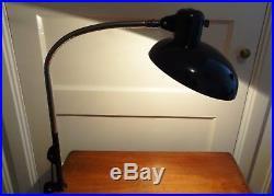 SIS Goose Neck Desk / Table Architect lamp Bauhaus Art Deco