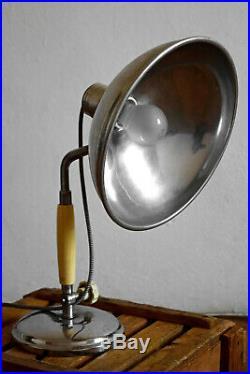 Schreibtischlampe Antik Vintage Art Deco Arztlampe Bauhaus Alt Tischlampe Loft