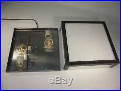 Schwere Art Deco Wandleuchte 30x30 Industrie Design Wandlampe Sonderanfertigung