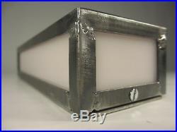 Schwere Art Deco Wandleuchte Industrie Design Wandlampe Hinweislampe Kinolampe