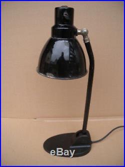 Seltene Schreibtisch Lampe Bauhaus Arbeits Leuchte Scissor Lamp 20er Art Deco